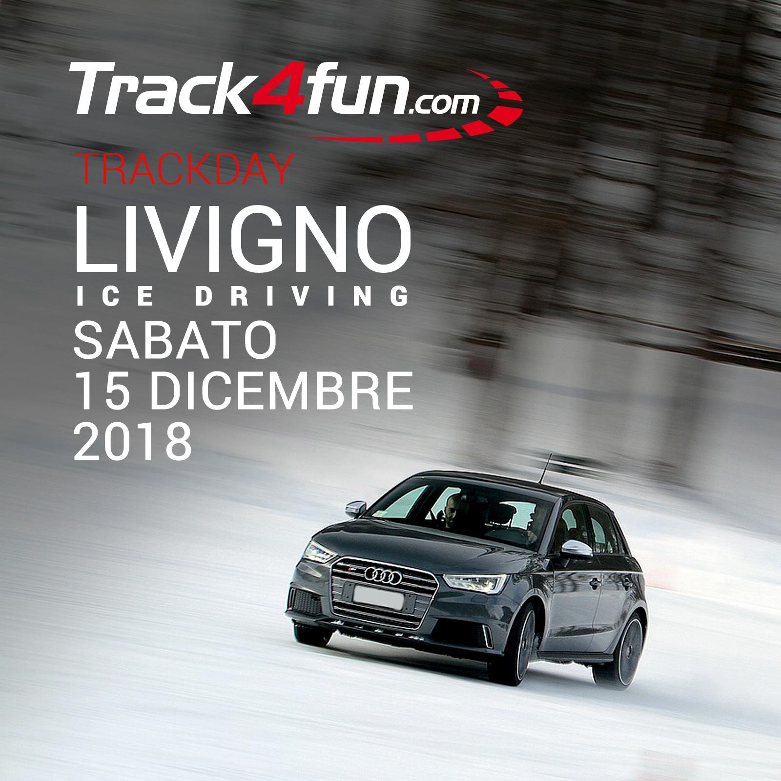 In Pista A Livigno Ice Driving – 15 E 16 Dicembre 2018