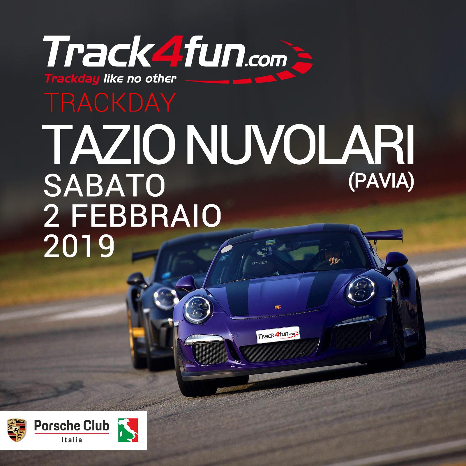 In Pista Al Tazio Nuvolari – 02 Febbraio 2019