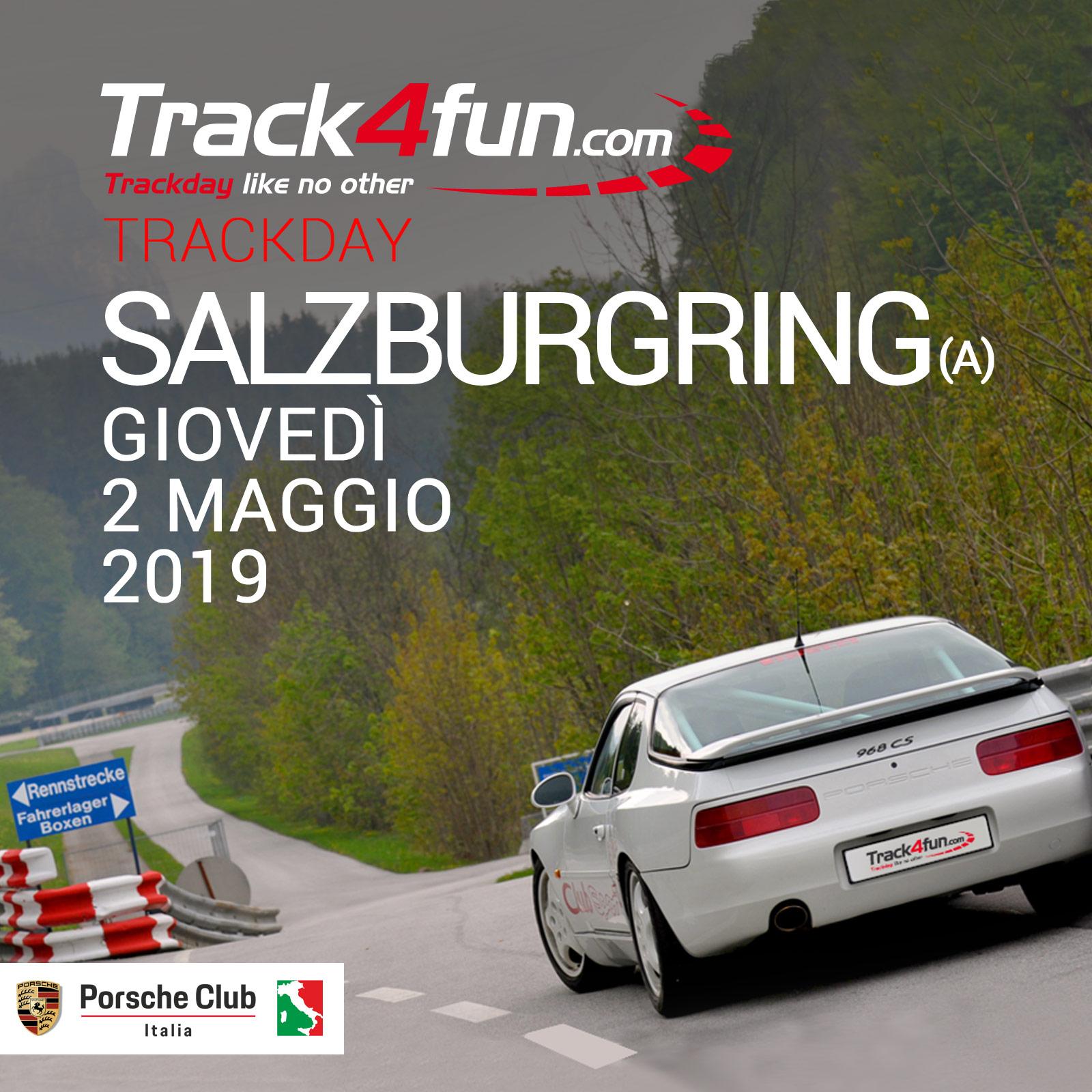 In Pista A Salzburgring – 02 Maggio 2019