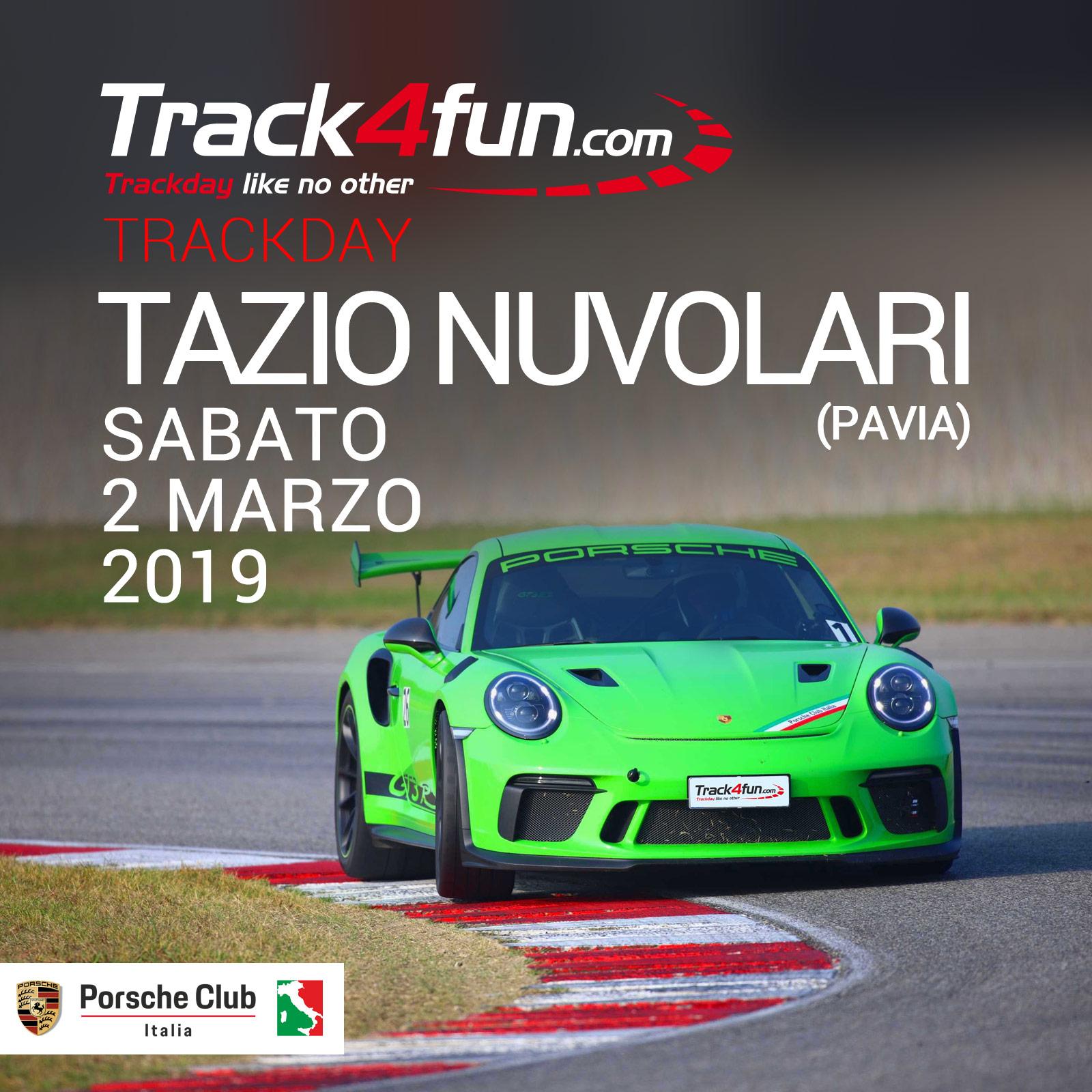 In Pista Al Tazio Nuvolari – 02 Marzo 2019