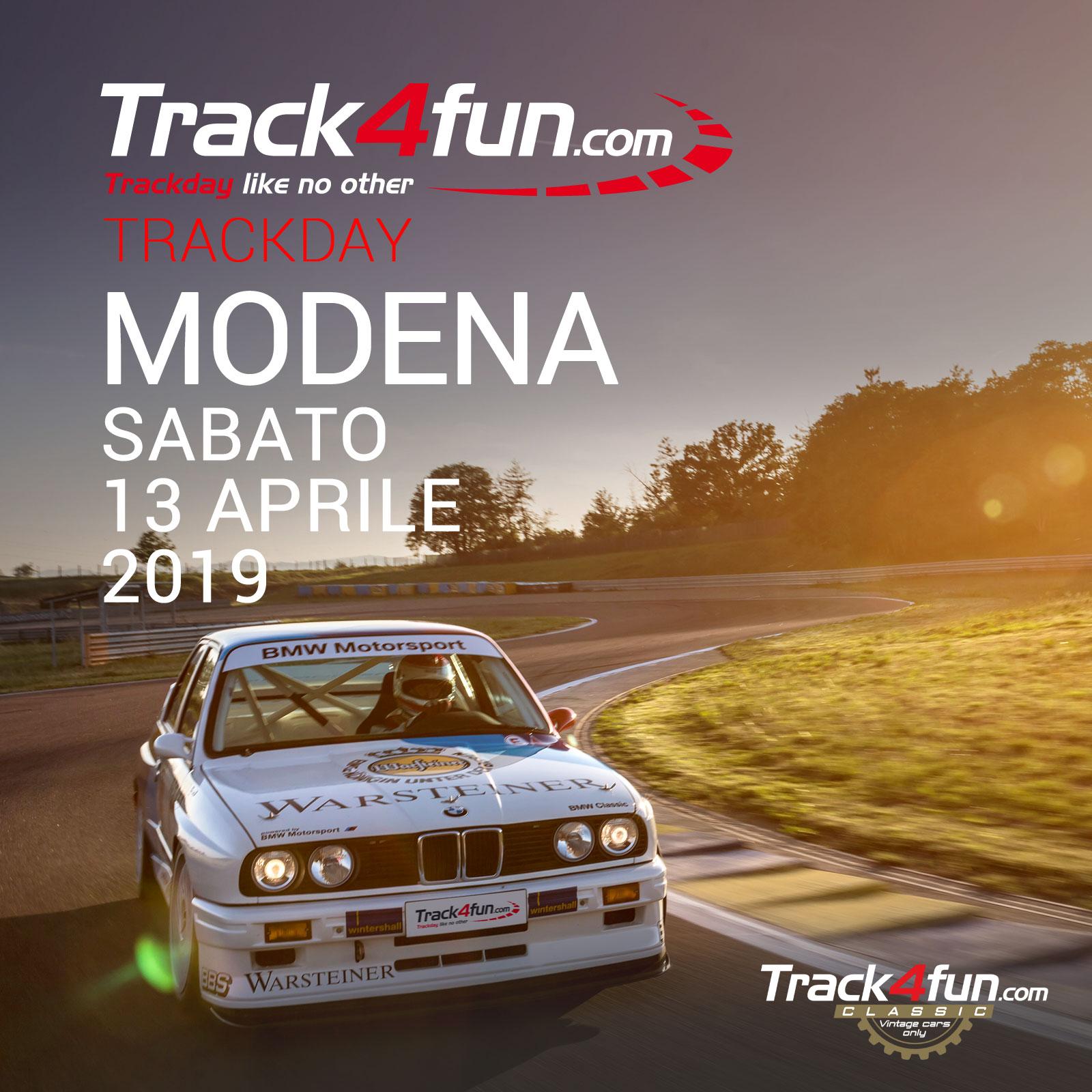 In Pista A Modena – 13 Aprile 2019