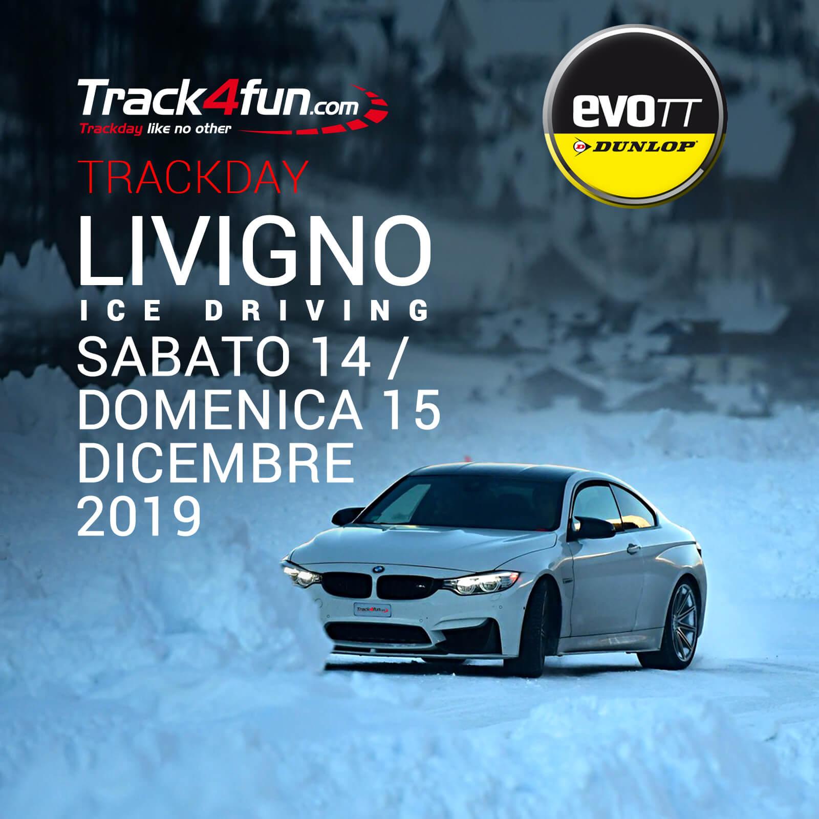 In Pista A Livigno Ice Driving – 14 E 15 Dicembre 2019