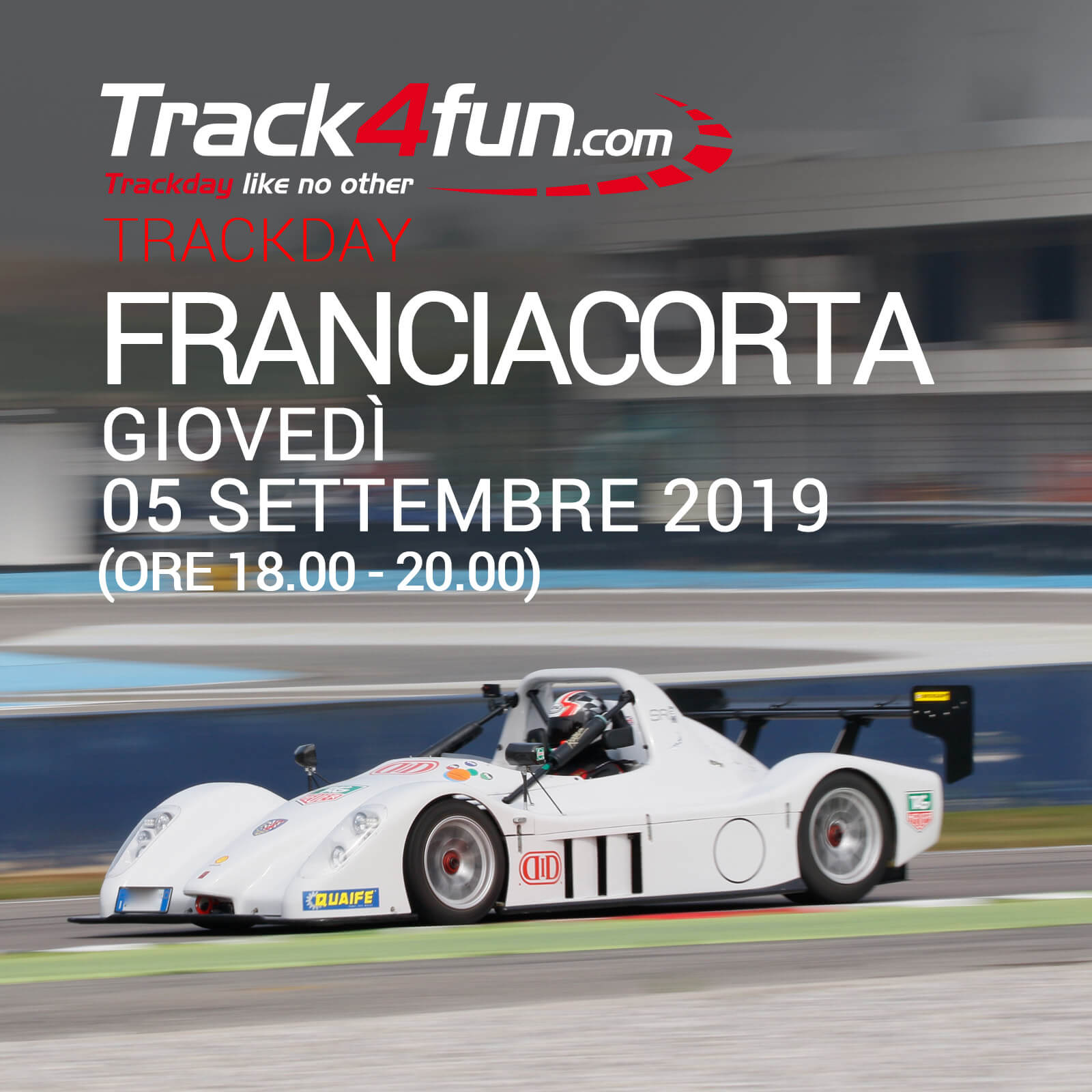 In Pista A Franciacorta – 05 Settembre 2019