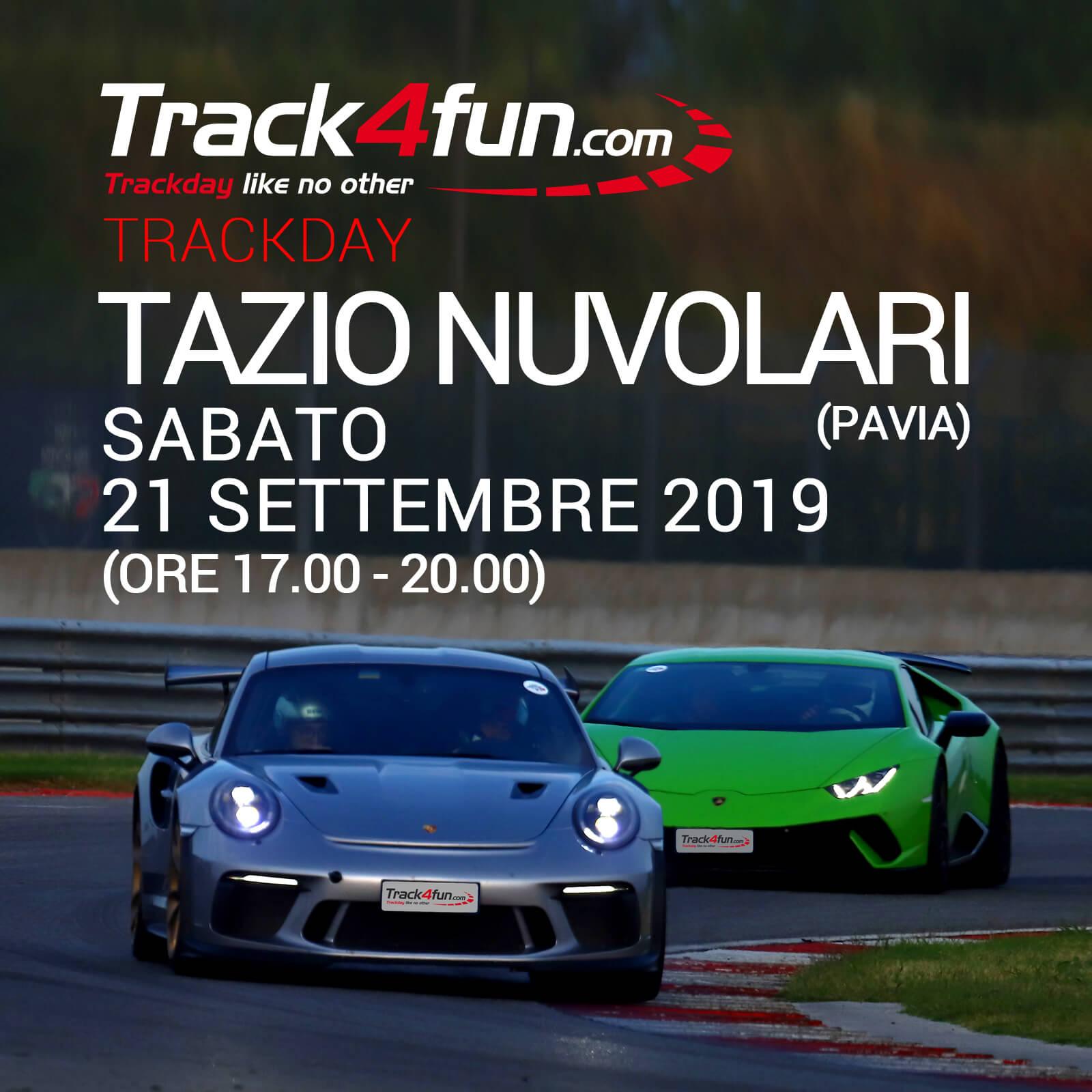 In Pista Al Tazio Nuvolari – 21 Settembre 2019