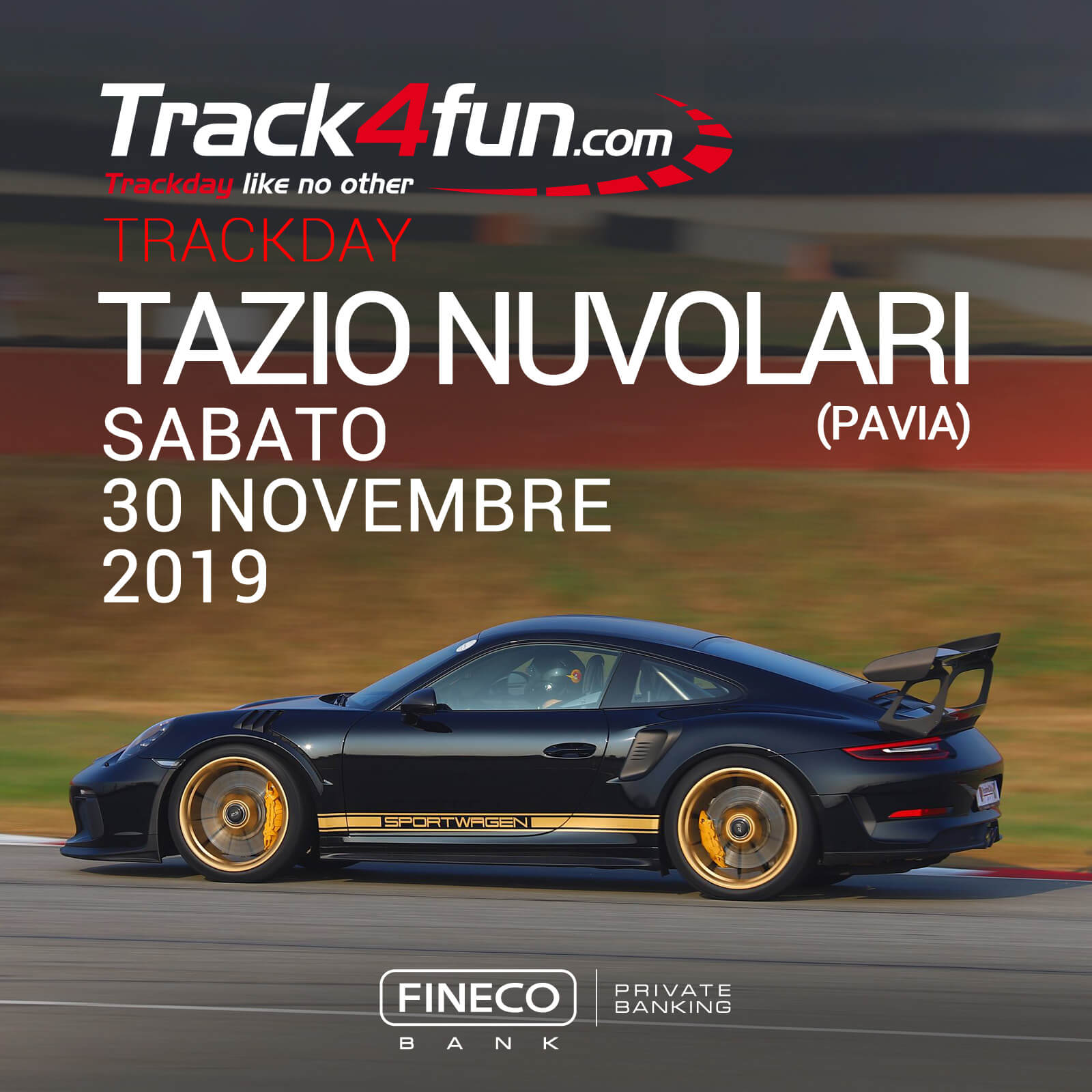 In Pista Al Tazio Nuvolari – 30 Novembre 2019