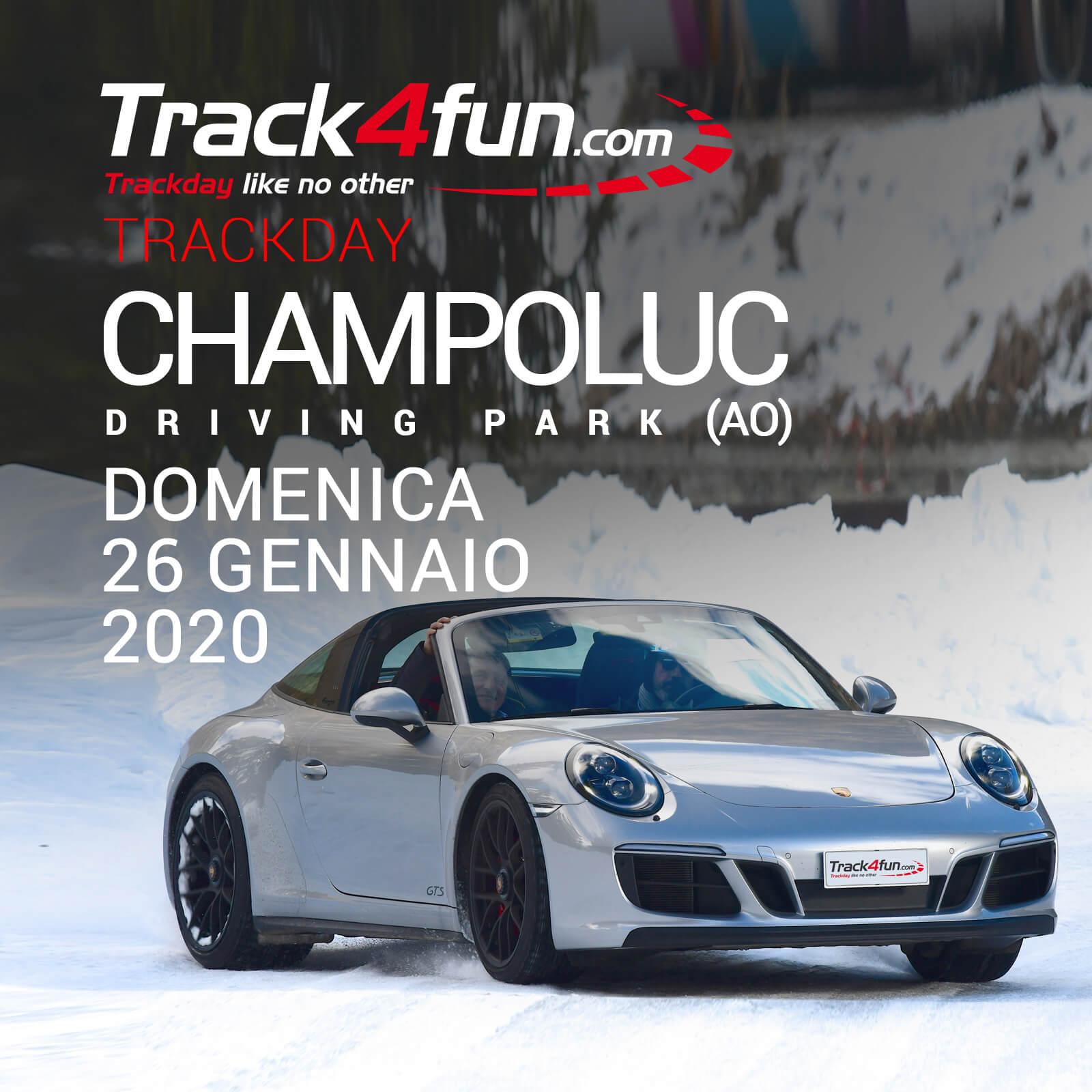 In Pista A Champoluc Driving Park – 26 Gennaio 2020