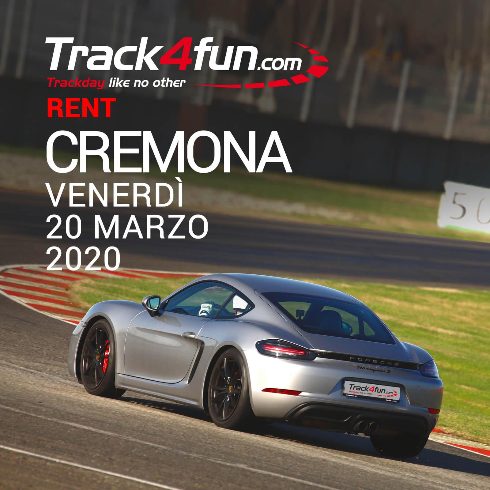 Track4fun Rent Cremona 20-03-2020