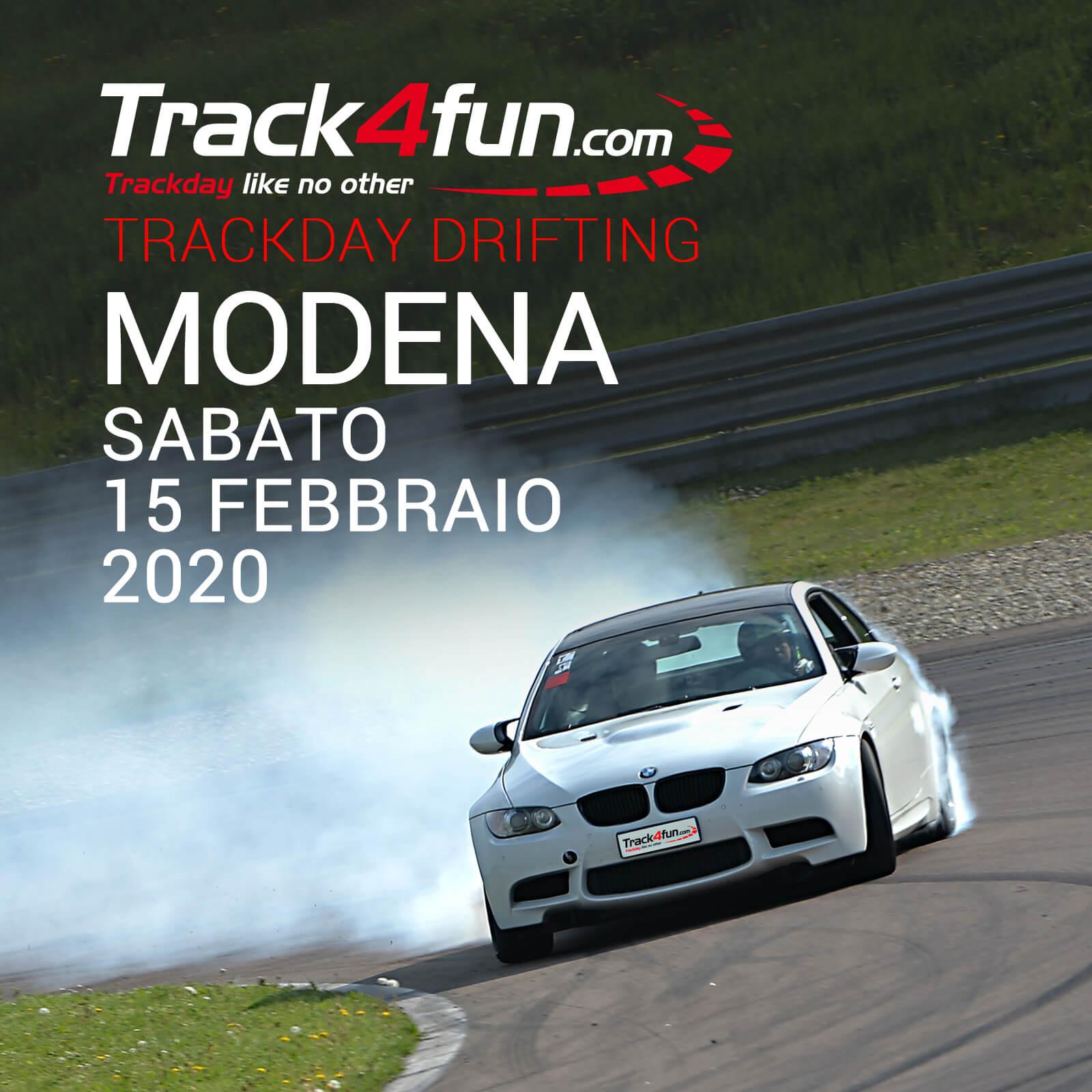 In Pista A Modena – 15 Febbraio 2020