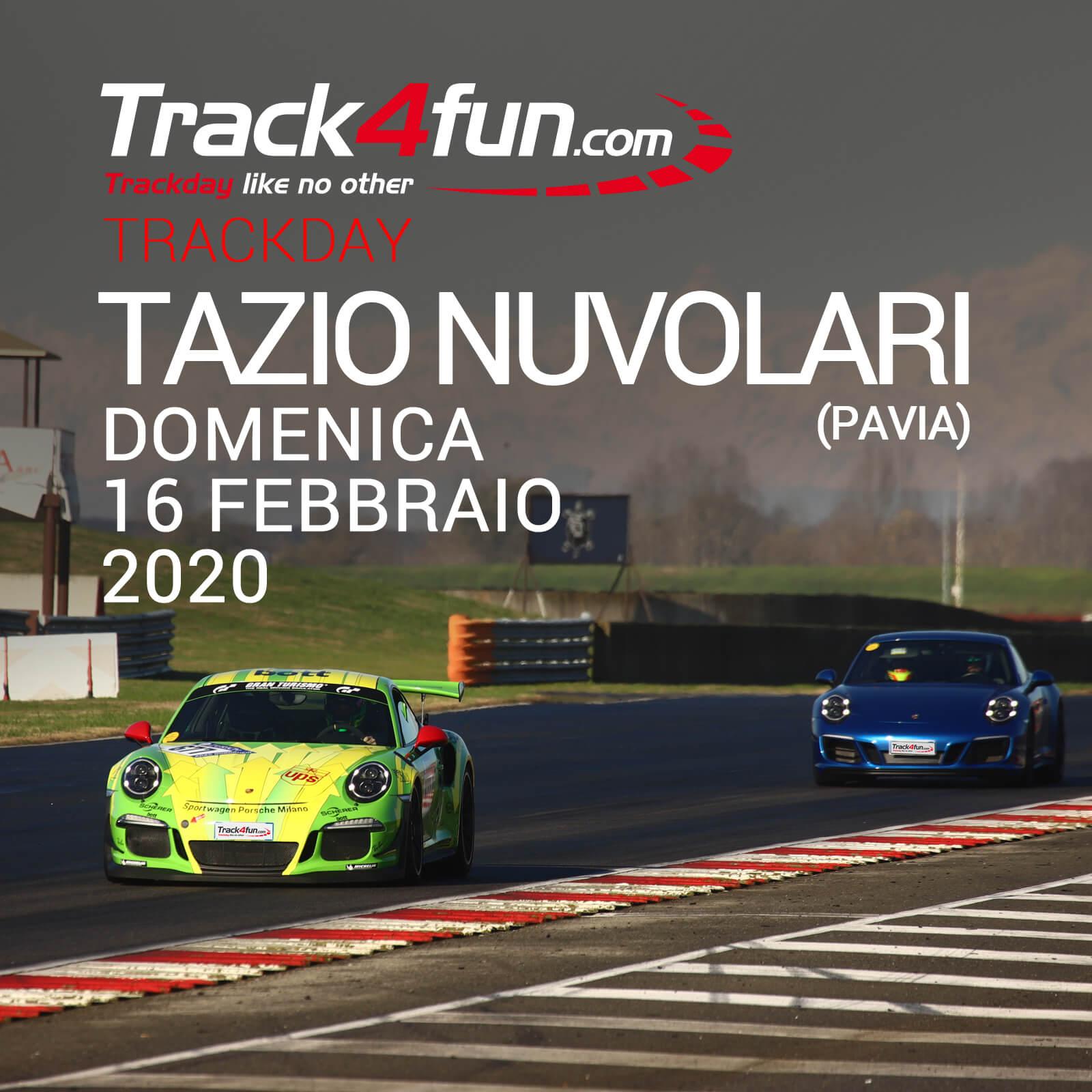 In Pista Al Tazio Nuvolari – 16 Febbraio 2020