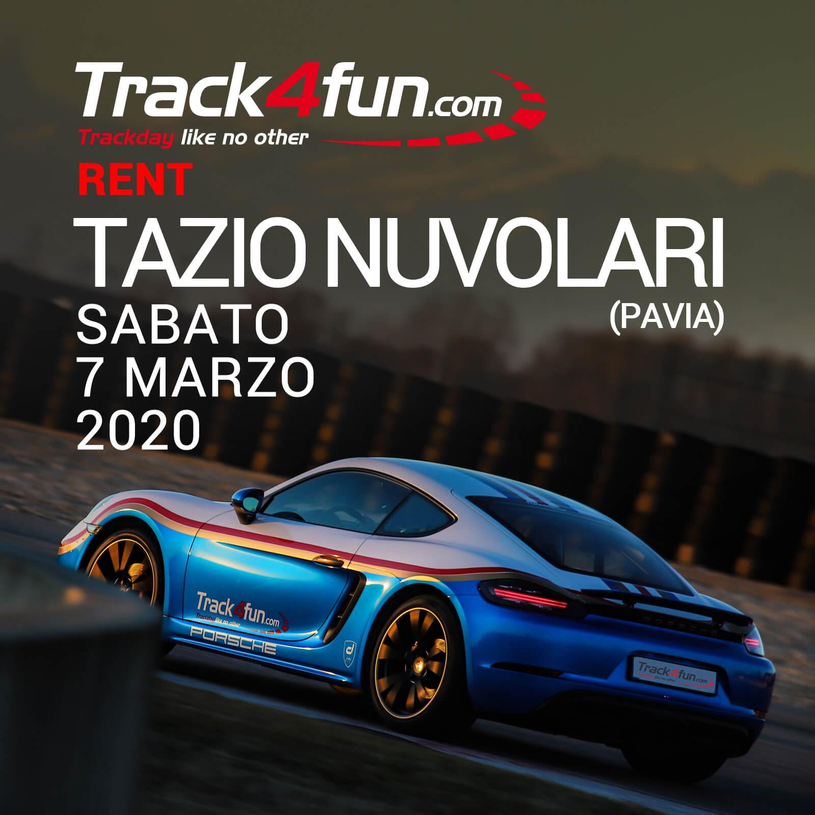 Track4fun Rent Tazio Nuvolari 07-03-2020
