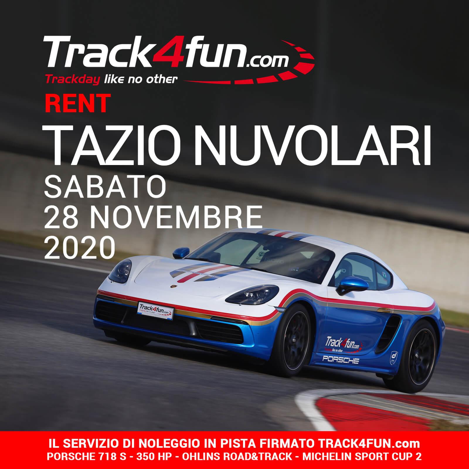 Track4fun Rent Tazio Nuvolari 28-11-2020