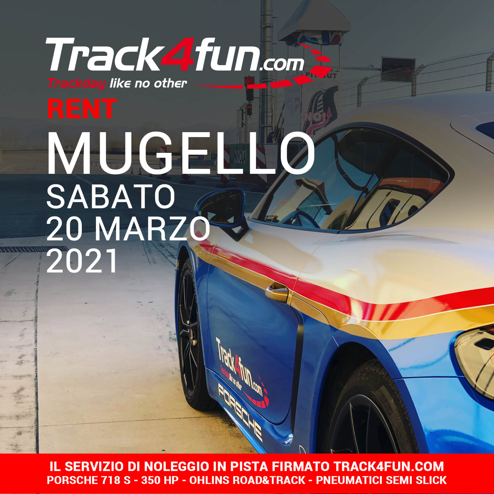 Track4fun Rent Mugello 20-03-2021
