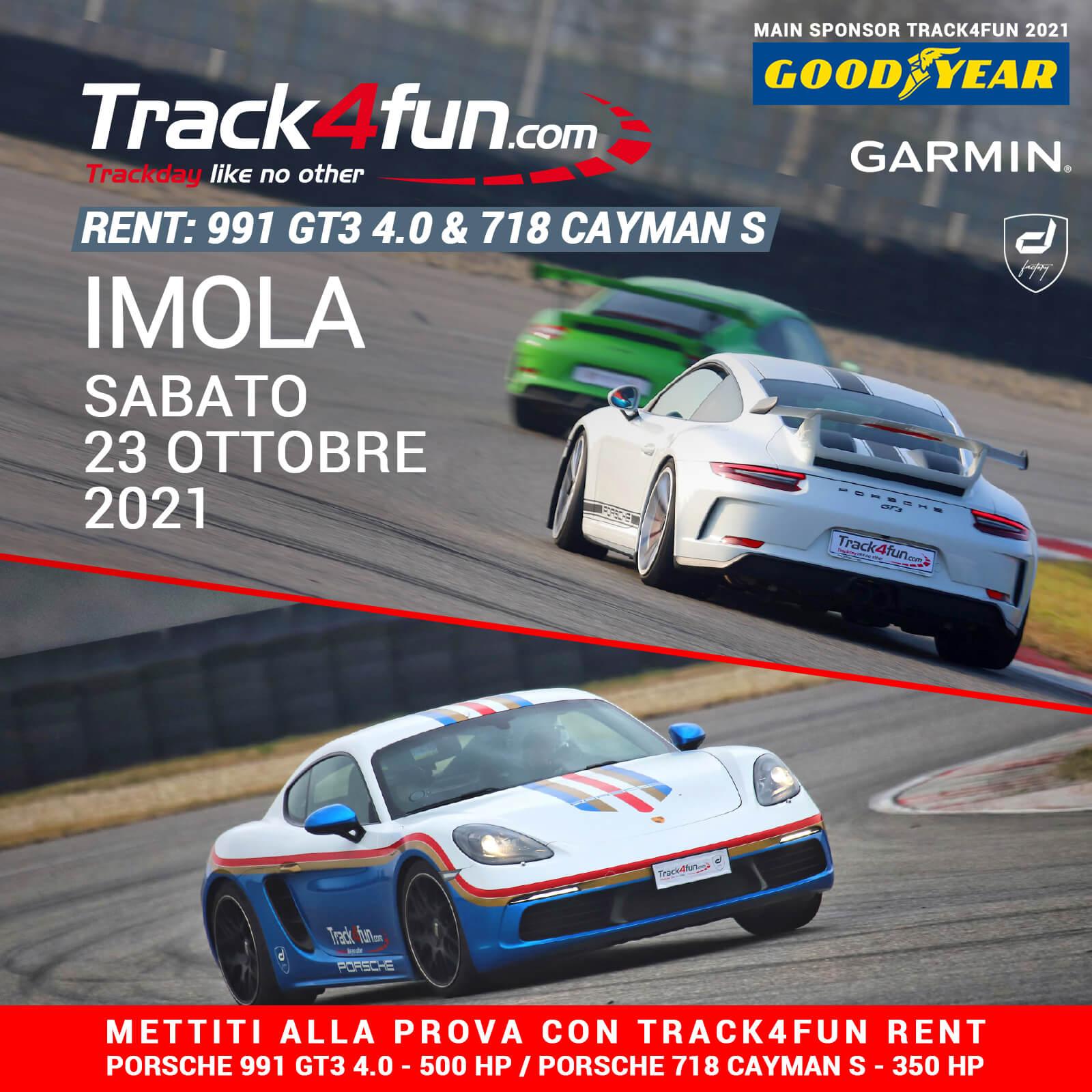 Track4fun Rent Imola 23-10-2021