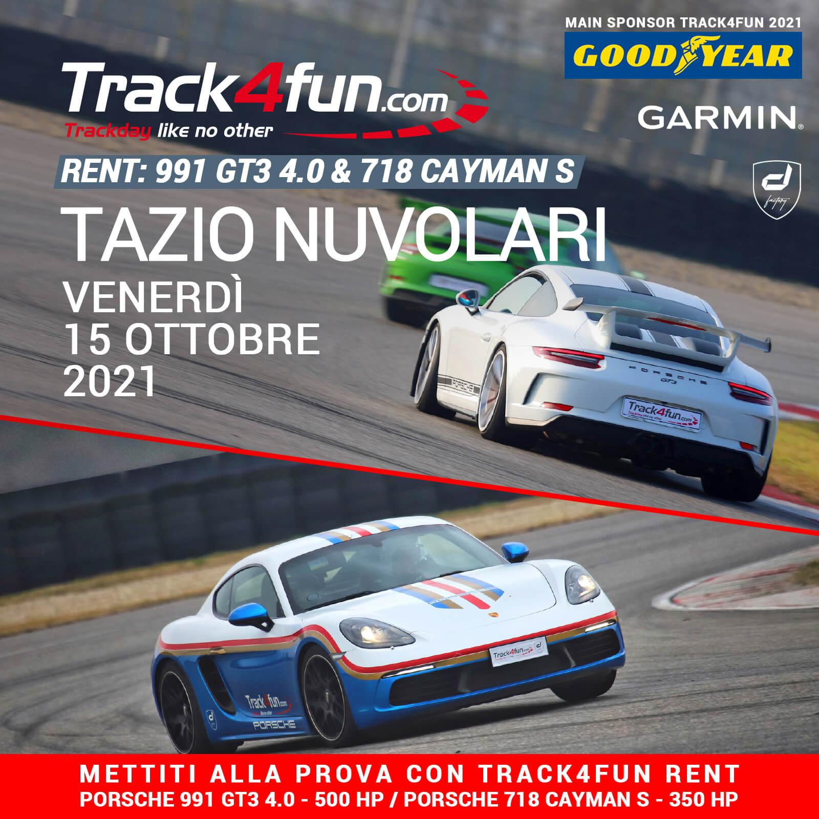 Track4fun Rent Tazio Nuvolari 15-10-2021