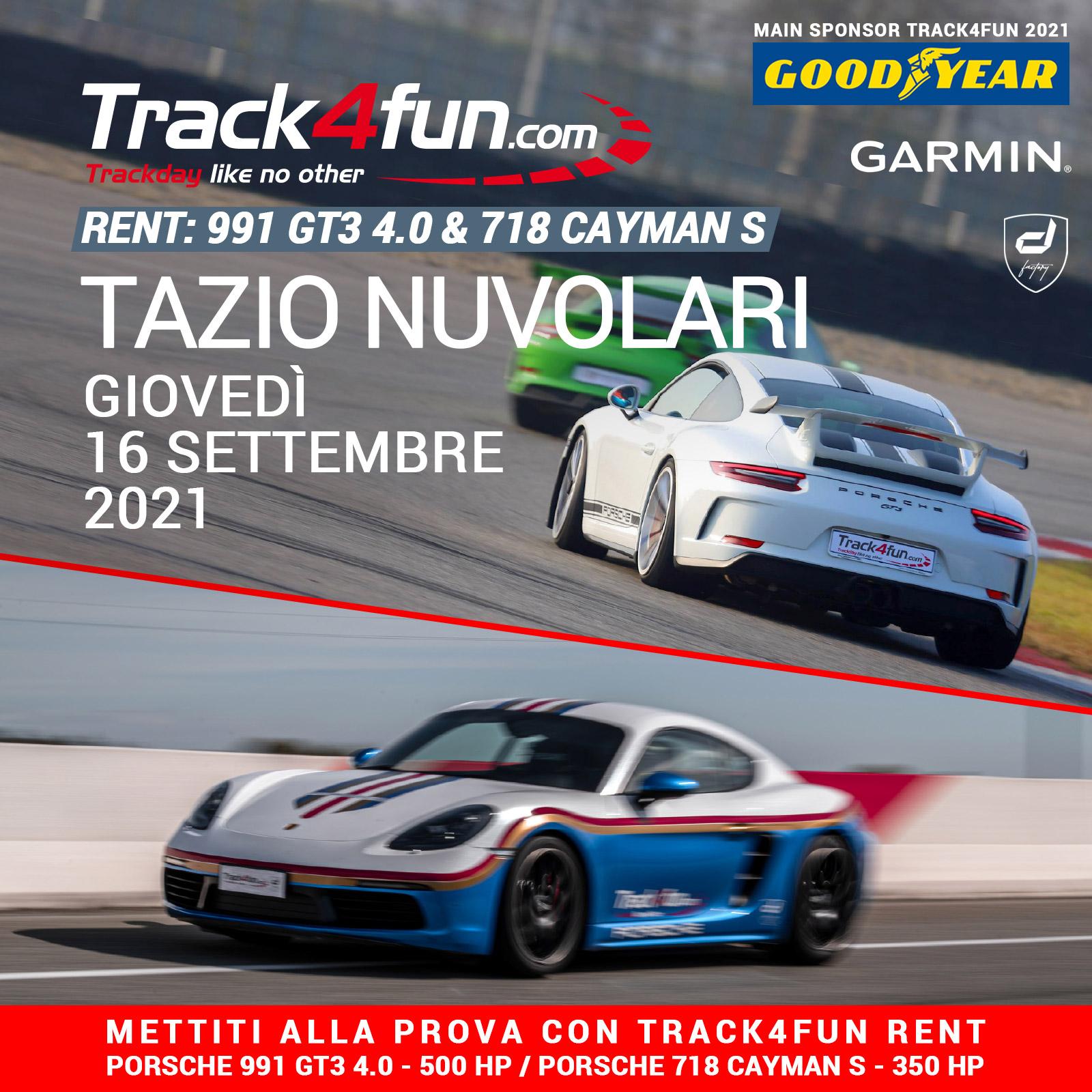 Track4fun Rent Tazio Nuvolari 16-09-2021